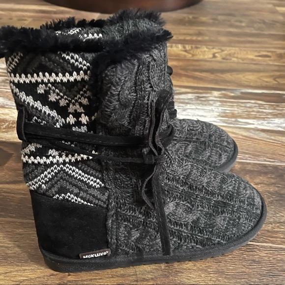 Muk Luks Women's Boots Clementine Sz 8